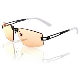 Herní brýle Arozzi VISIONE VX-600, jantarová skla (VX600-1) černé/bílé
