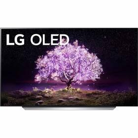 Televize LG OLED65C12 stříbrná/bílá