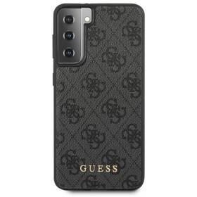 Kryt na mobil Guess 4G na Samsung Galaxy S21 5G (GUHCS21SG4GFGR) šedý