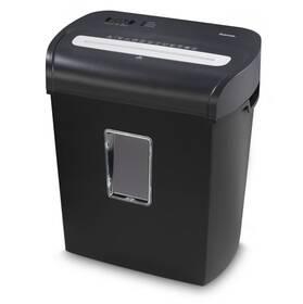 Skartovač Hama Premium M8, skartovačka, micro řez, 8 listů, stupeň utajení P-4 (50545)