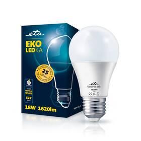 Žárovka LED ETA EKO LEDka klasik 18W, E27, neutrální bílá (A65W18NW)