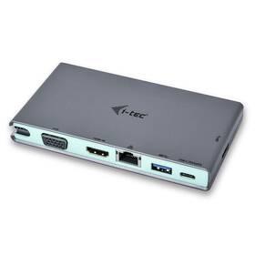 Dokovací stanice i-tec USB-C, 4K HDMI, VGA (C31TRAVELDOCKPD)