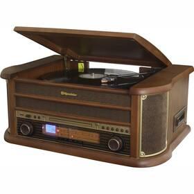 Gramofon Roadstar HIF-1993 BT dřevo