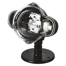 Dekorativní LED projektor EMOS hvězdičky, venkovní i vnitřní, teplá/studená bílá (DCPN01)