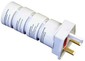 Cestovní adaptér Solight souprava UK, USA, AUS, AFR (PA21) bílý
