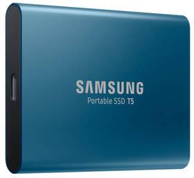 SSD externí Samsung T5 500GB (MU-PA500B/EU) modrý