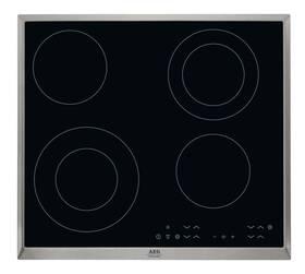 Sklokeramická varná deska AEG Mastery HK634021XB černá/sklo