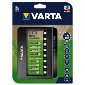 Nabíječka Varta LCD Multi Charger pro 8x AA/AAA (57681101401)