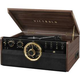 Gramofon Victrola VTA-270B dřevo