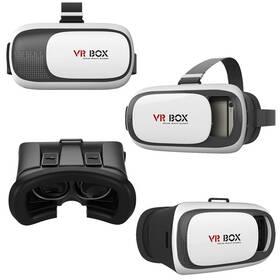 Brýle pro virtuální realitu Aligator VR BOX2 (VRBOX2) černý/bílý