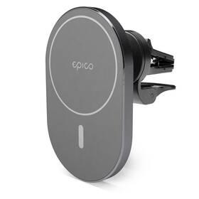 Držák na mobil Epico Elipse s Magsafe 15W (9915111300035) šedý