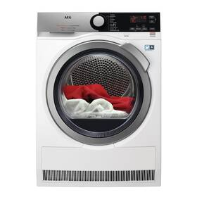 Sušička prádla AEG FiberPro T9DBE69SC bílá barva