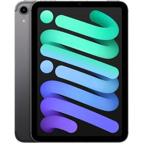 Dotykový tablet Apple iPad mini (2021) Wi-Fi + Cellular 256GB - Space Grey (MK8F3FD/A)