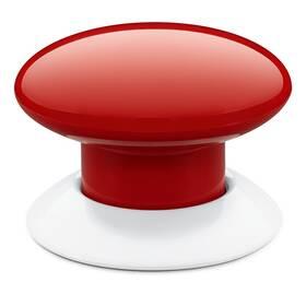 Tlačítko Fibaro Button pro Apple HomeKit (FGBHPB-103) červené