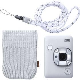 Digitální fotoaparát Fujifilm Instax Mini LiPlay Bundle Hard bílý