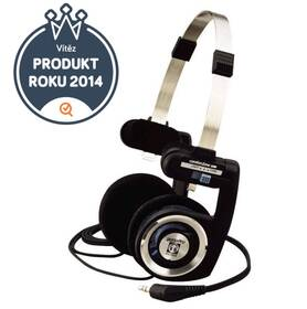 Sluchátka Koss PORTA PRO I (doživotní záruka) černá/stříbrná