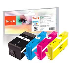 Inkoustová náplň Peach HP No. 903XL, MultiPack, 1x28, 3x12 ml CMYK (320006)