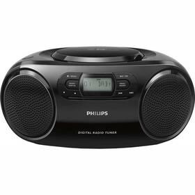 Radiopřijímač DAB+/CD Philips AZB500 černý