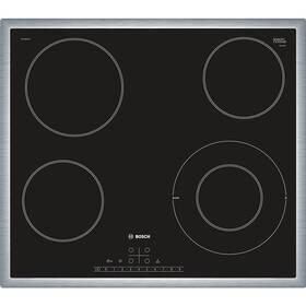 Sklokeramická varná deska Bosch PKF645FN1E černá