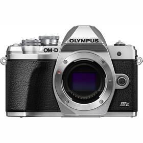 Digitální fotoaparát Olympus E-M10 III S (V207110SE000) stříbrný