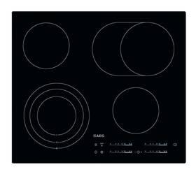 Sklokeramická varná deska AEG Mastery HK654070IB černá/sklo
