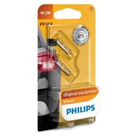 Autožárovka Philips Vision W1,2W, 2ks (12516B2)