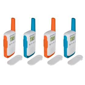 Vysílačky Motorola TLKR T42 - Quad pack (B4P00811MDKMAQ)