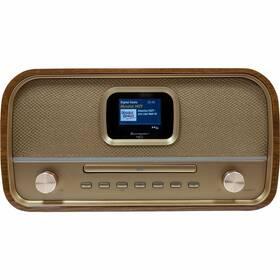 Radiopřijímač s DAB+ Soundmaster DAB970BR1 dřevo