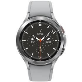Chytré hodinky Samsung Galaxy Watch4 Classic 46mm (SM-R890NZSAEUE) stříbrné