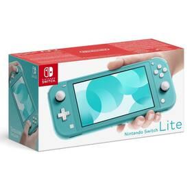 Herní konzole Nintendo Switch Lite (NSH105) modrá