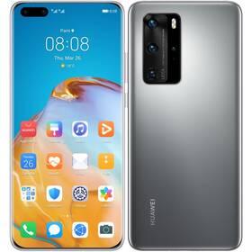 Mobilní telefon Huawei P40 Pro (HMS) 5G (SP-P40P256DSTOM) šedý