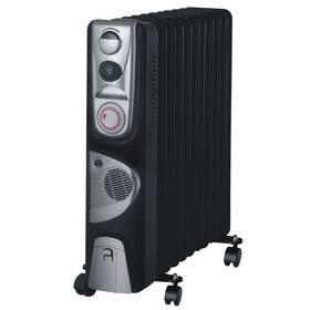 Olejový radiátor Guzzanti GZ 411BTF černý