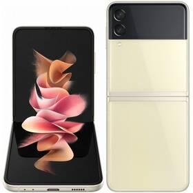 Mobilní telefon Samsung Galaxy Z Flip3 256 GB 5G (SM-F711BZEFEUE) krémový