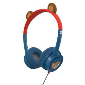 Sluchátka iFrogz Little Rockerz Costume - Medvídek