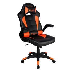 Herní židle Canyon Virgil (CND-SGCH2) černá/oranžová