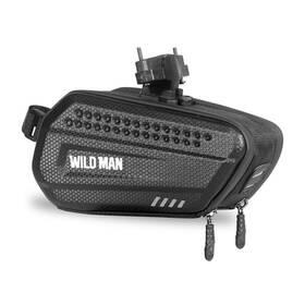 Pouzdro na mobil WILD MAN ES7 na kolo pod sedátko (ES7) černé