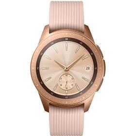 Chytré hodinky Samsung Galaxy Watch 42mm (SM-R810NZDAXEZ) růžové