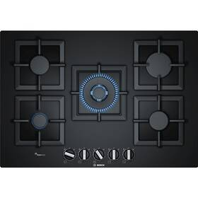 Plynová varná deska Bosch PPQ7A6B20 černá