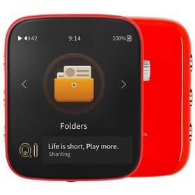 Přenosný digitální přehrávač Shanling Q1 červený