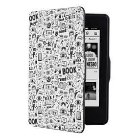 Pouzdro pro čtečku e-knih Connect IT Doodle pro Amazon Kindle Paperwhite 1/2/3 (CEB-1031-WH) bílé