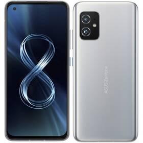 Mobilní telefon Asus ZenFone 8 16GB/256GB 5G - ZÁNOVNÍ - 12 měsíců záruka stříbrný