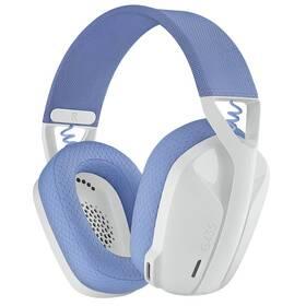 Headset Logitech G435 Lightspeed (981-001074) bílý