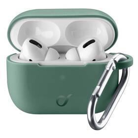 Pouzdro CellularLine Bounce pro Apple AirPods Pro (BOUNCEAIRPODSPROG) zelené