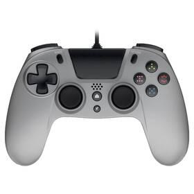 Gamepad Gioteck VX-4 s audio konektorem, pro PS4, PC (VX4PS4-45-MU) šedý