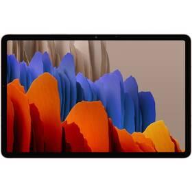 Dotykový tablet Samsung Galaxy Tab S7 Wi-Fi (SM-T870NZNAEUE) bronzový