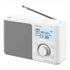Radiopřijímač s DAB+ Sony XDR-S61DW bílý