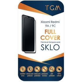 Tvrzené sklo TGM Full Cover na Xiaomi Redmi 9A/9C (TGMFCXIRED9A) černé