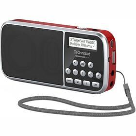 Radiopřijímač s DAB+ Technisat TECHNIRADIO RDR červený