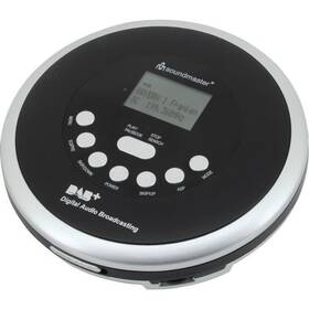 Discman Soundmaster CD9290SW černý/stříbrný