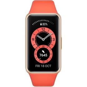 Fitness náramek Huawei Band 6 (55026636) oranžový